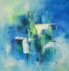 Blaues Stillleben